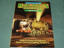 RAILWAYS RESTORED 1989-90 EDITION - Guide To Preserved Railways Steam Centres & Railway Museums